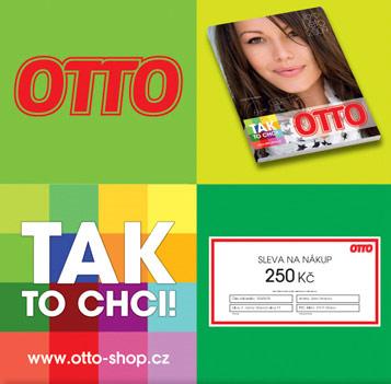 Nákupní sleva 250 Kč u otto-shop.cz
